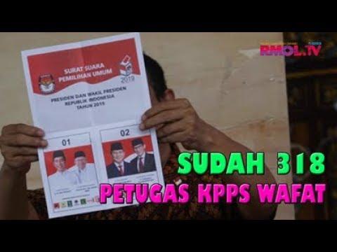 Sudah 318 Petugas KPPS Wafat