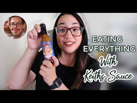 EATING EVERYTHING WITH KEITH'S HOT SAUCE (TASTE TEST) TRY GUYS HOT SAUCE