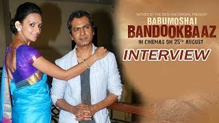 Nawazuddin Siddiqui & Bidita Bag Interview On Babumoshai Bandookbaaz.Click this below link and subscribe to our channel to get all updates on Bollywood Movies, and your favorite Bollywood actresses and actors.http://goo.gl/cfijvC