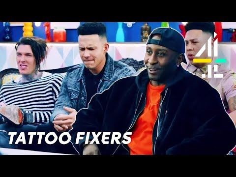 Most SHOCKING Tattoos on Tattoo Fixers!! | Part 3