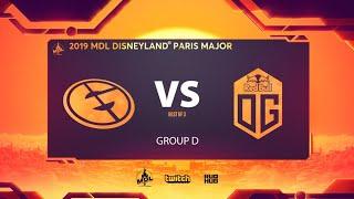Evil Geniuses vs OG, MDL Disneyland® Paris Major, bo3, game 1 [Maelstorm & Lost]