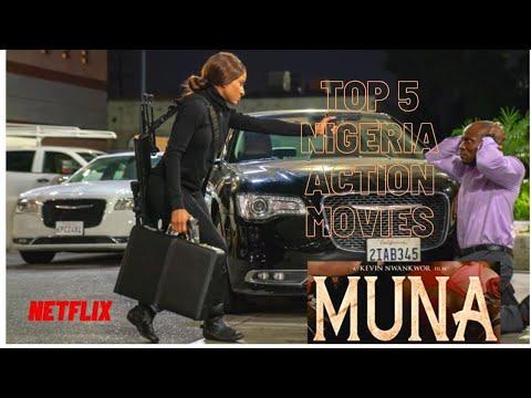 TOP 5 NIGERIAN ACTION MOVIES ON NETFLIX CINEMA  [2020]. MUNA, MERRY MEN 2, SUGAR RUSH, KING OF BOYS,