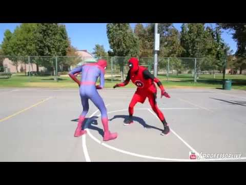 Morphsuit Deguisement Spiderman Et Cagoule DeadPool