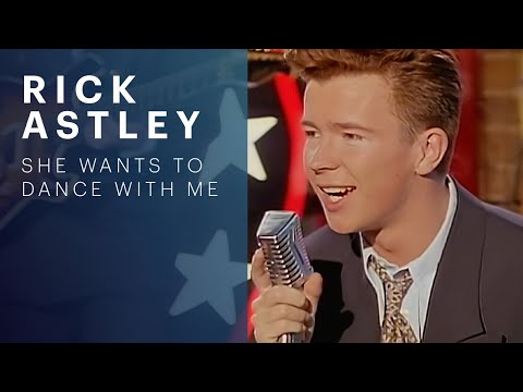 Rick Astley - She Wants To Dance With Me (видео)