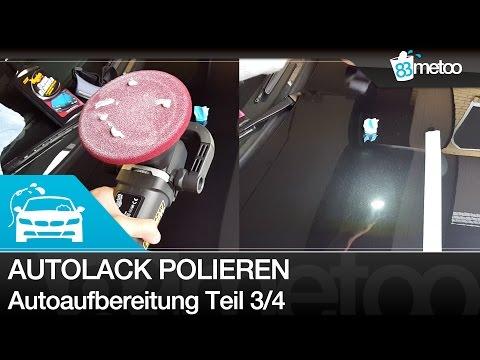Auto polieren mit Poliermaschine Anleitung - Autoaufbereitung Teil 3 - 30.000 Abonnenten Special