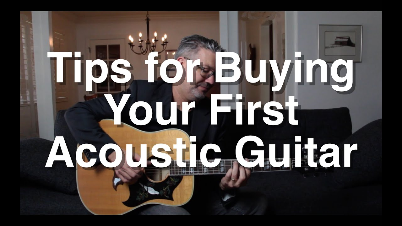 Tips for Buying Your First Acoustic Guitar | Tom Strahle | Easy Guitar | Basic Guitar