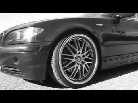 Stanced BMW 330i E46 on 19