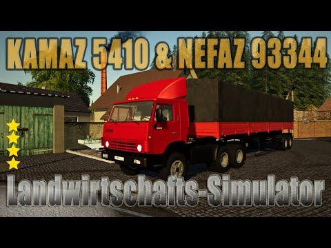 KAMAZ 5410 & NEFAZ 93344 v1.0.0.0