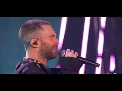 Maroon 5 - Wait ( Live on IHeart Music Awards 2018 ) (видео)