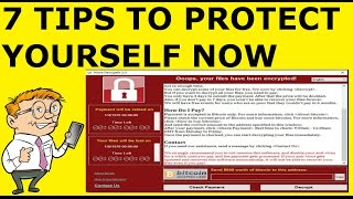 In this video I am going to show you How To Protect Yourself From Wanna Cry Ransomware Attack. I am going to show you 7 easy to implement tips you can implem...
