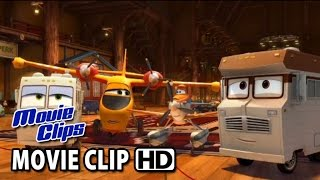 Planes: Fire&Rescue Movie CLIP - First Kiss (2014) HD