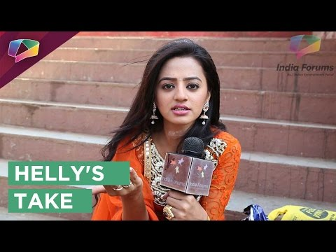 Helly Shah's take on Urvashi Masi's evil plans