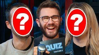 Le deuxième quiz le plus attendu de YouTube avec des questions sur du putaclic, du bad buzz, tout ce qu'on aime quoi.Voir le précédent Quiz YouTube ici : https://www.youtube.com/watch?v=ibxP229BGaUMerci à EnjoyPhoenix : https://www.youtube.com/user/EnjoyPhoenixDrNozman : https://www.youtube.com/user/DrNozmanLaink & Terracid : https://www.youtube.com/user/MiniprodFRMerci à Guilhem et Pierre pour l'aide sur le quiz, allez voir leur chaine : https://www.youtube.com/user/leclubofficiel