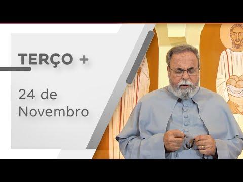 Terço de Aparecida com Pe. Antonio Maria – 24 de Novembro de 2020