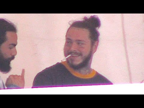 Post Malone Keeps The Party Going After Performing At Hollywood Bowl