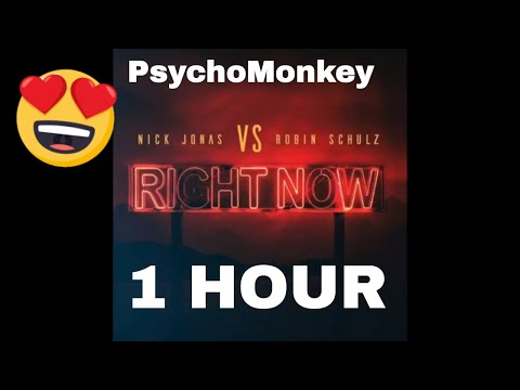 Video [1 Hour] Nick Jonas, Robin Schulz - Right Now download in MP3, 3GP, MP4, WEBM, AVI, FLV January 2017