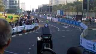 Marathon Dubai 2010 Finish Area