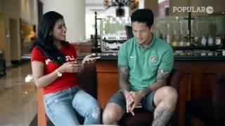 Video Duet Irfan Bachdim + Stefano Lilipaly versus Miss POPULAR Indonesia! MP3, 3GP, MP4, WEBM, AVI, FLV Oktober 2017