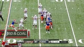 Dominique Easley vs Louisville (2012 Bowl)
