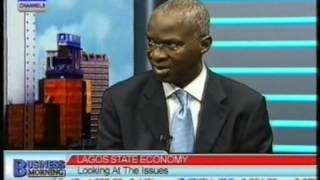 Lagos State Economy : Channels Tv Interview Fashola