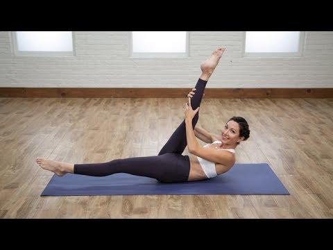 탄력있는 복부 만들기 - 2분 운동