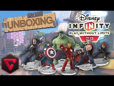 2.0 - Wiiiiiiii, os he hecho caso y he comprado toda la colección de Disney Infinity, ya sabéis que amo Marvel y encima esta colección tiene algo genial, podemos iniciar una serie probando a todos...
