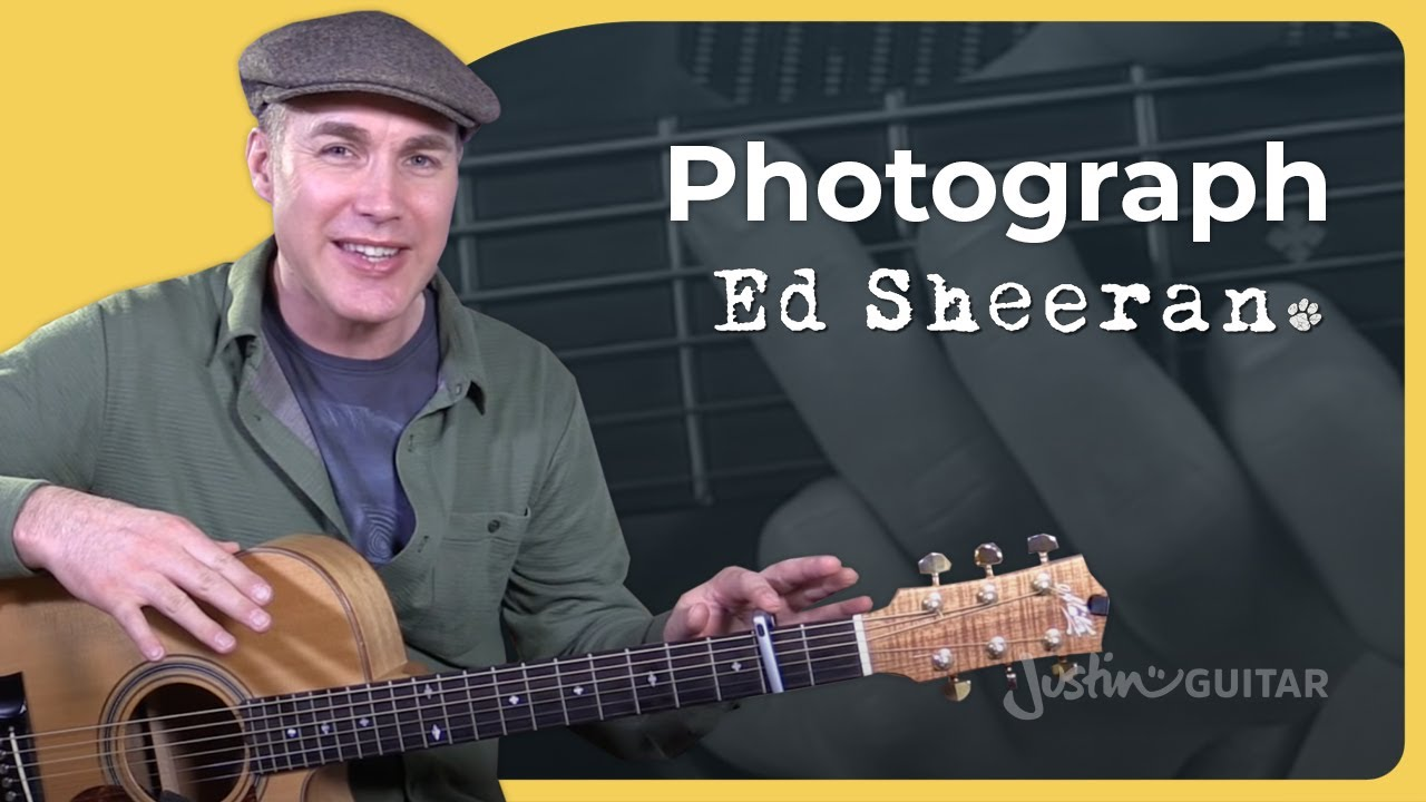 How to play Photograph by Ed Sheeran easy beginner version – Guitar Lesson Tutorial HD (BS-691)