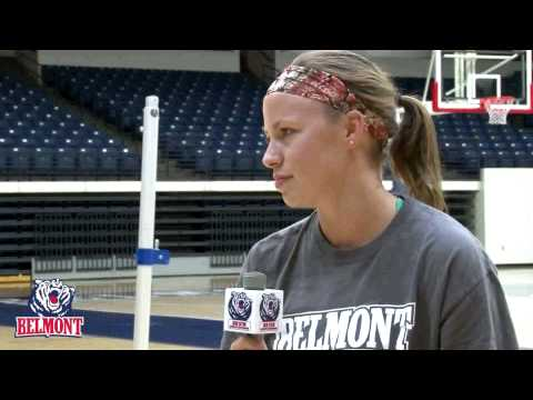 allisonmccoy - A sit-down feature interview with Belmont University volleyball senior Allison McCoy.