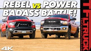 Video New Ram Rebel vs New Power Wagon: We Put Them Through a Battery Of Tests To Find Which One Is Best! MP3, 3GP, MP4, WEBM, AVI, FLV April 2019