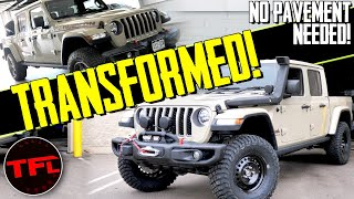 From Mild to Military Grade Wild: Here's How to Transform a Jeep Gladiator Into a Badass Overlander! by The Fast Lane Truck