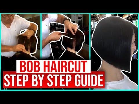 Hair cutting - Bob Hair Cut Step By Step