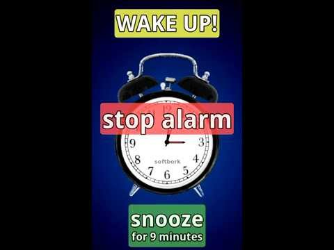 Video of Simplest Alarm-clock Ever