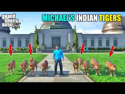 GTA 5 : MICHAEL BUYING NEW PETS FROM INDIA || BB GAMING