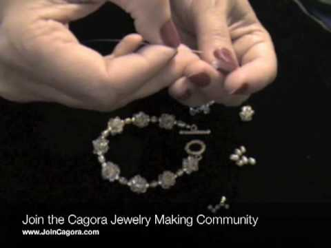 How to Make elastic beaded rings « Jewelry