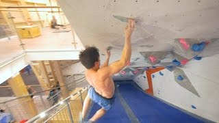 Fredrik Is Jumping And Flying In The Tunnel - Part 2 by Eric Karlsson Bouldering