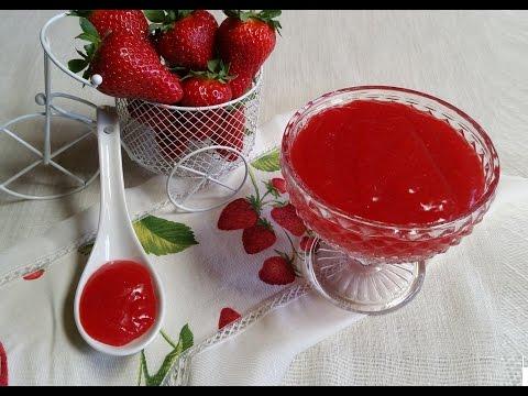 crema alle fragole senza glutine, uova e latticini - la video ricetta