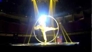 Slow Motion Cyr Wheel