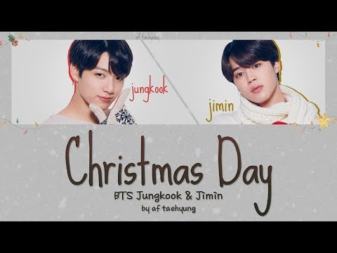 Bts Jungkook And Jimin Christmas Day Lyrics Translation Cream Color Coded