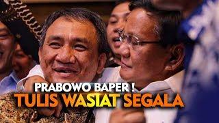 Video Buat Surat Wasiat Segala ! Bapak Prabowo Baper Ya ? Jokowi Cuek Aja MP3, 3GP, MP4, WEBM, AVI, FLV Mei 2019