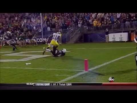 Geremy Davis Game Highlights vs Michigan 2013 video.