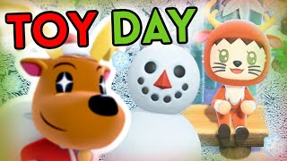 Animal Crossing : TOY DAY !!!