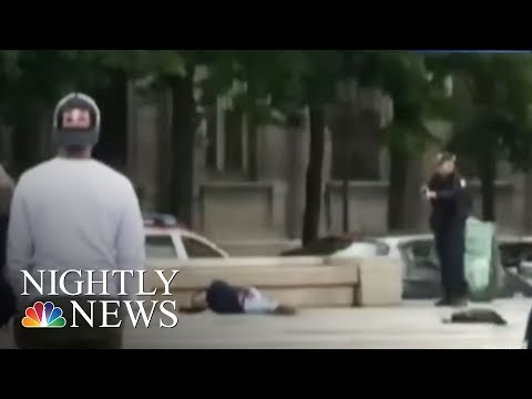 Notre Dame: Hammer-Wielding Attacker Shot By Police | NBC Nightly News