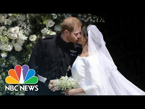 Prince Harry And Meghan Markle Are Married At St. George's Chapel | NBC News (видео)