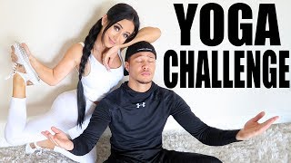 HI ANGELS!!! Believe it or not, this is exactly what it's titled lol: Me doing the Yoga Challenge with a random stranger. LOL LET ME EXPLAIN: I LOVE the boyfriend tags on youtube, and my fav one is the yoga challenge. But since I'm single af & had no one to do it with, I thought it would be a funny twist to just ask a cute boy I met at a party to do it with me lol. ...idk, it's 2017 why not :PLOL I LOVE YOU BABES! Have a sparkly 4th of July xoxoxxAmbermy sneakers!: http://bit.ly/2sGmcleInsta/Twitter/Snap: @AmberScholl :)if you want to stalk Najee lol: Insta: @najeedetiege_ Twitter: @NajeeDeTiege