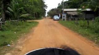 Muang Phon Thailand  City pictures : Motorbike Ride Phon Muang Lao Sua Kok Ubon Ratchathani Thailand