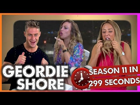 Geordie Shore Season 11 In 299 Seconds!! | MTV
