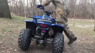 4. 2012 Polaris Trail Boss 330 ATV demo ride