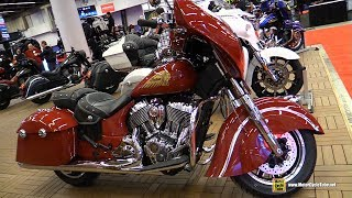 8. 2018 Indian Chieftain Classic - Walkaround - 2018 Montreal Motorcycle Show
