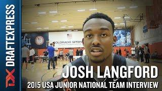 Josh Langford 2015 USA Basketball Mini-Camp Interview by DraftExpress