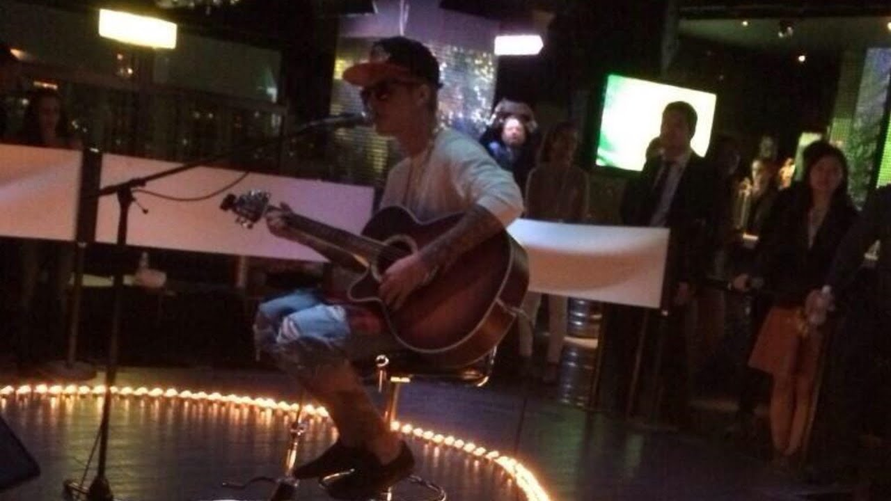 Justin Bieber Performing @ VS nightclub in Tokyo, Japan!